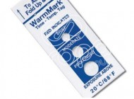 WarmMark and ColdMark temperature indicators