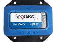 Tilt, shock and environmental conditions recorder SpotBot Ble