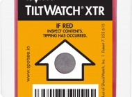 Tiltwatch overturning indicators